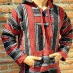 rs0061 Jorongo artesanal Unisex mayoreo fabricante proveedor ropa taller maquilador